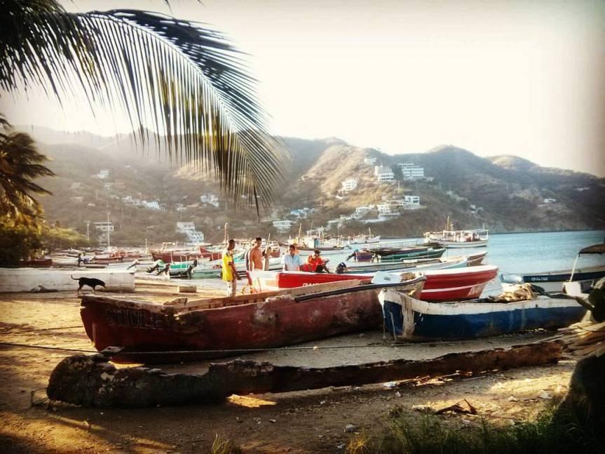 Up the Colombian Coast: Santa Marta &Taganga